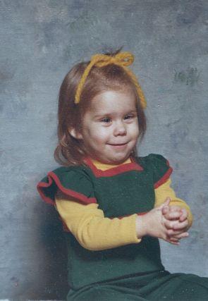 Cassie, age 2 November 6, 1976
