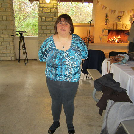 At Cari & Alan's Wedding - October 19, 2013