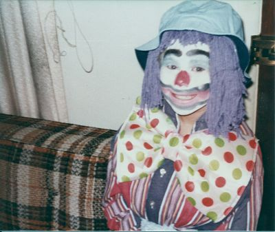 Cassie the clown - she did like to clown around!