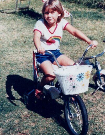 First bike - Spring 1983