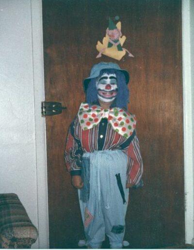 Cassie the Clown Halloween 1982