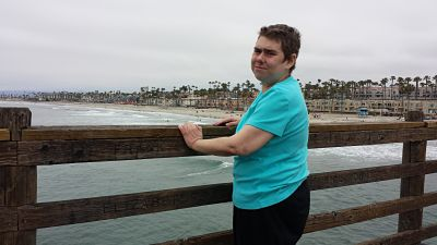 Oceanside Pier, in Califoria 2015