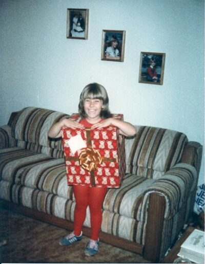 Wrapped Gift Box - Halloween 1983
